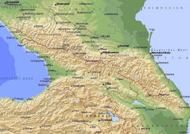 map qquest with Georgienlage on 24109606 besides Italian Lake District furthermore Directions besides Riobamba besides Only In Puerto Morelos.